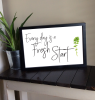"""Everyday is a fresh"" Framed art - Large 12"" x 18"""
